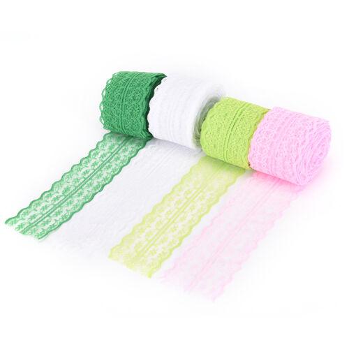 FR_10 verges de dentelle ruban DIY vêtements accessoires f Ek 3