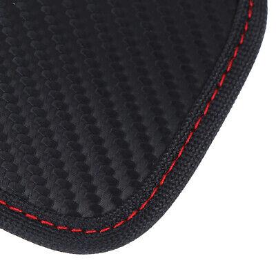 Black Car Key Signal Blocker Case Pouch Bag Faraday Cage Keyless RFID Blocking 8