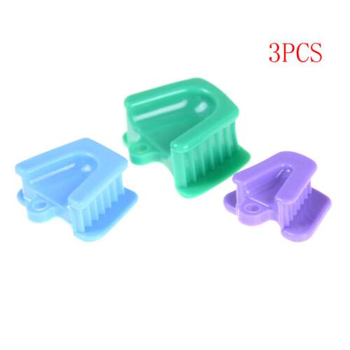 3pcs/set silicone bouche prop bloc de morsure fournitures dentaires  nw 2