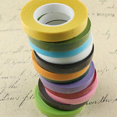 30yards Florist Green Floral Stem Tape Corsage Buttonhole Artificial Stamen Wrap 5