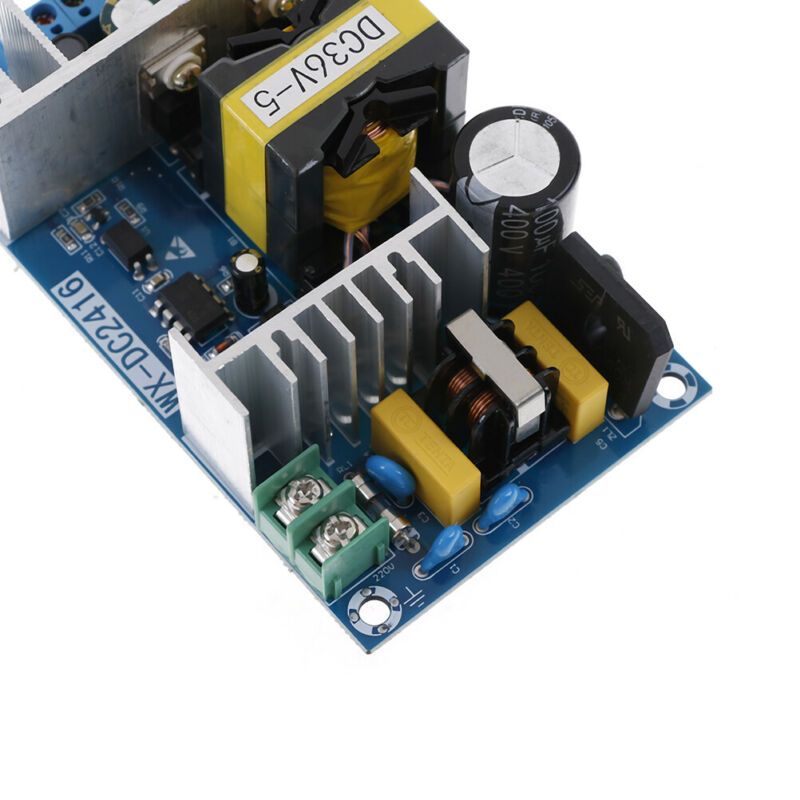 AC-DC 100-240V to 36V 5A 180W 50/60HZ Power Supply Switching Board Module dnTEC 7