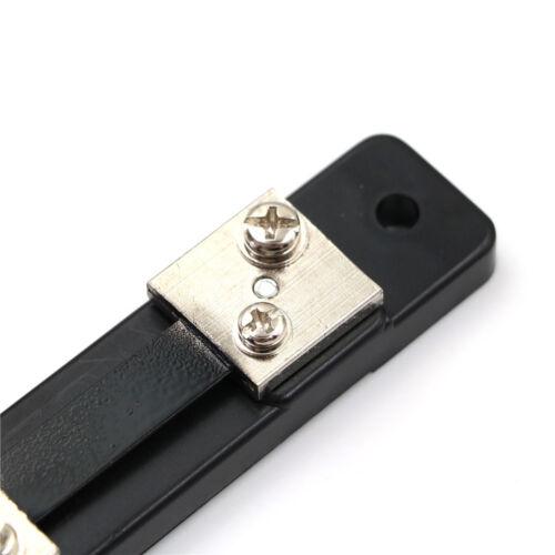 1PC 50A 75mV DC Current Divider Shunt Resistor FL-2 For Amp Panel Meter NB 4