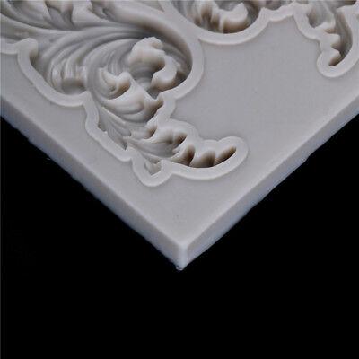 Cake Border Silicone Mold Sugar Craft Fondant Cookie Mold Xmas Decor Cake Too Bj 6