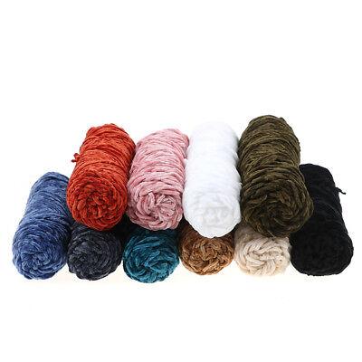 100g Velvet yarn Soft protein Cashmere silk wool Yarn crochet handmade knitti qr 5