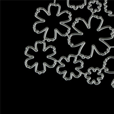 10Pcs Flower Design Metal Cutting Die For DIY Scrapbooking Album Paper Cards~GN 4