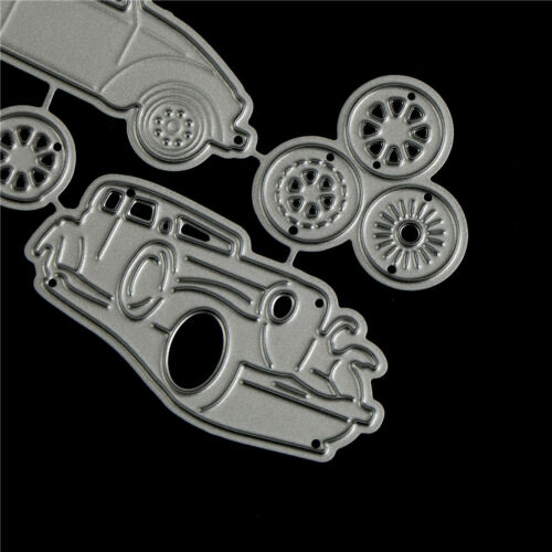 4pcs Classic Cars Metal Cutting Dies For DIY Scrapbooking Album Paper Card Cw 4