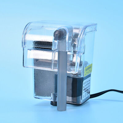 Mini Aquarium Power Filter Waterfall Water Pump Fish Tank Hang On