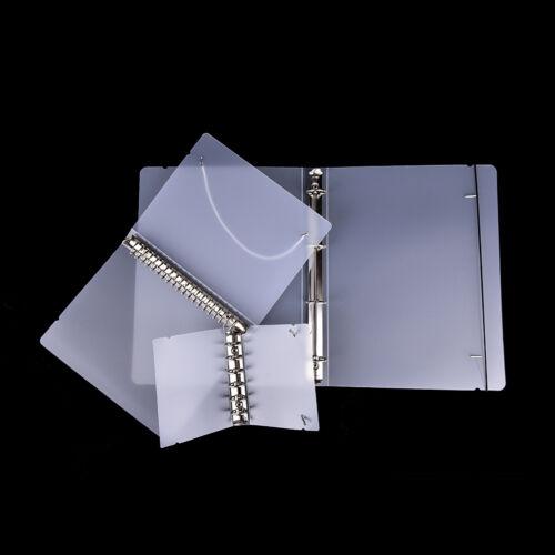 PP Cover für Notebook Ordner 6 Loch Ringbinder Spiralen A4 A5 A7 nachfüllbarRSSP