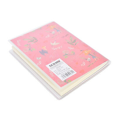 1X Charming Adorable Cartoon Small Notebook Handy Notepad Paper Notebook S6 11