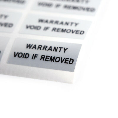 300 Hologram VOID IF REMOVED Security Tamper Evident Warranty Stickers daf