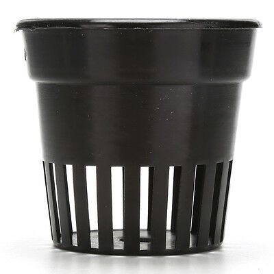 10x Heavy Duty Mesh Pot Net Cup Basket Hydroponic Aeroponic Plant Grow Clone CL