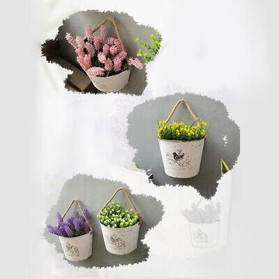 Pflanzzubehor Eisenblech Blumentopf Halbrunde Wand Hangende Blumen Topf Blumen Behalter Garten Terrasse Blog Vr Com Br