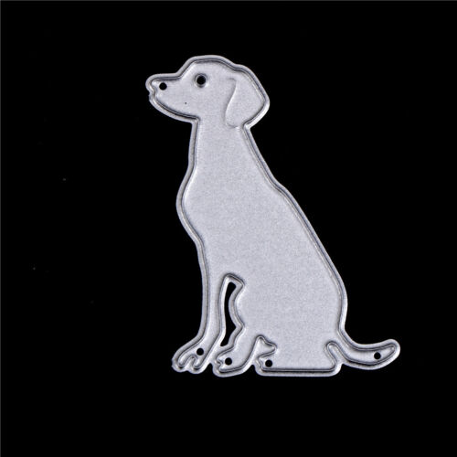 dog with bones scrapbook cuttings dies metal die cuts for diy scrapbook decor EL 7