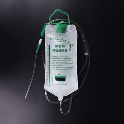 1200ml Home Colonic Irrigation Kit Bag Reusable