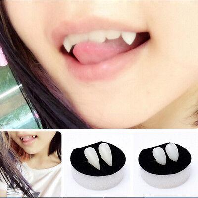 Halloween vampiro sanguinante con denti di dentiera PB 2