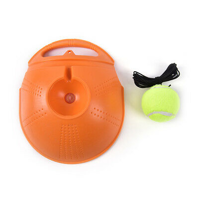 Tennis Trainer Baseboard Sparring Device Tennis Training Tools with Tennis balls 3