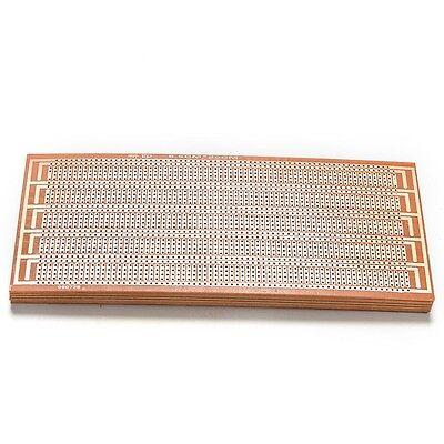 10X DIY Prototype Paper PCB Universal Experiment Matrix Circuit Board 8.5x20c JB