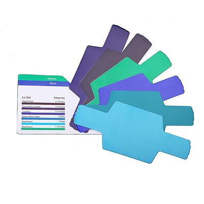 20pcs  20 colors FLash/Speedlite/Speedlight Color Gels Filter kit WL 5