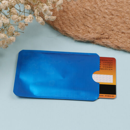 10pcs colorful RFID credit ID card holder blocking protector case shield cover—H 11