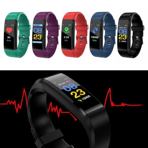 Sport Health Waterproof Fitness Smart Watch Activity Tracker Wrist Band Bracelet 5