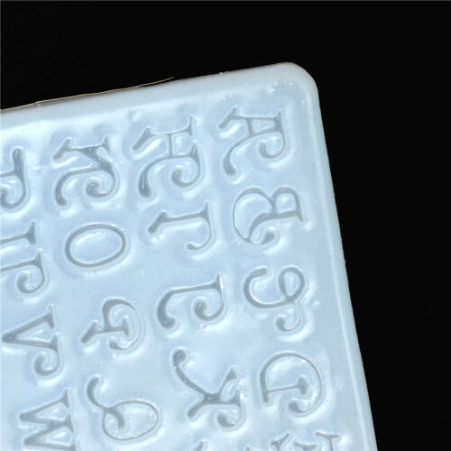 1PC LETTERS SILICONE Mould Diy Resin Decor Craft Jewelry Making Resin Molds  $
