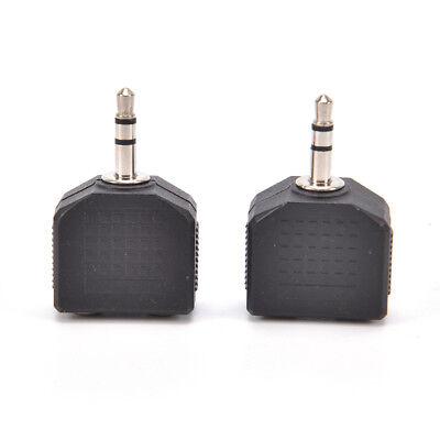 3,5 mm Y shape Stereo-Splitter Audio Mic /& Kopfhörer Buchse Stecker Adapt G U9W8