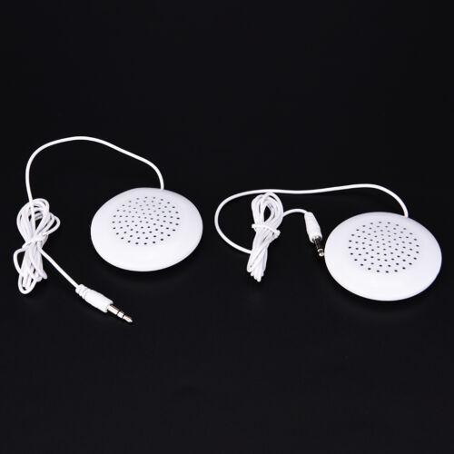 1pcs 3.5mm Pillow Speaker For MP3 MP4 Music Player CD Radio Portable Speaker H/&P