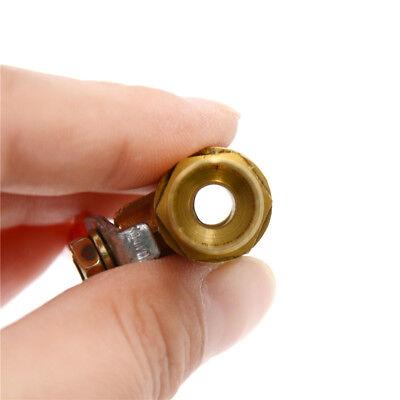 12mm Inline eau de laiton//air Gas ligne robinet à bille d/'arrêt tr HQ