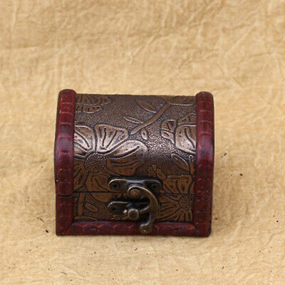 12 X Padlock Hasp Hook Horns Antique Metal Jewelry Box Buckle Shackle Lock 5