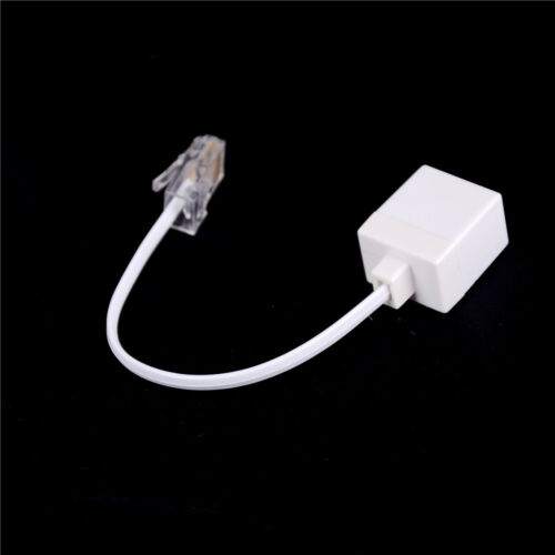 RJ11 6P4C Female To Ethernet RJ45 8P8C Male F//M Adapter Converter Cable PhoB1IS