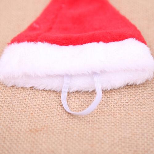 Christmas pet santa hat small puppy cat dog xmas holiday costume ornamentY lq 7