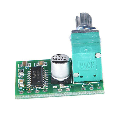 Mini 5V PAM8403 Audio Power Amplifier Board 2 Channel With Volume Control HICA
