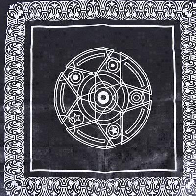 49*49cm pentacle tarot game tablecloth board game textiles tarots table cover HU 3