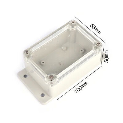 100*68*50mm Waterproof Plastic Electronic Project Cover Box Enclosure Case PB 4