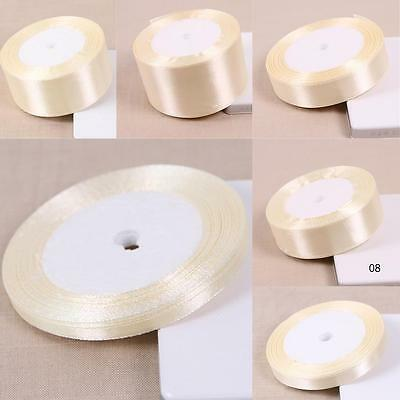 25 Yards Silk Satin Ribbon Wedding Party Decor Wrapping Xmas Apparel*SewiLA 2
