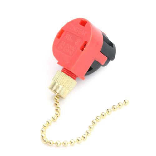interrupt fr ZE-268S1 Interrupteur de lampe de ventilateur de plafond à tirette