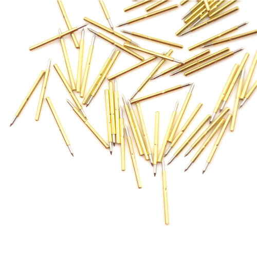 100pcs P75-B1 Dia 1.0mm Cusp Spear Spring Loaded Test Probes Pogo Pins tool ZBDE