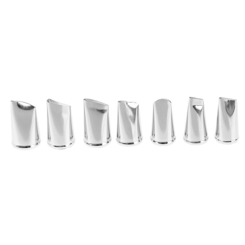 7pcs/set Cake Decorating Tips Cream Icing Piping Rose Tulip Nozzle Pastry Too hc 3