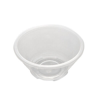 20 Pcs Clear Plastic Disposable Rice Serving Bowls Outdoor Picnic Party UK` 2