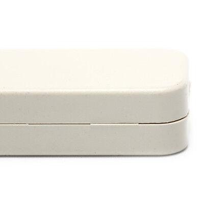 Small plastic housing power terminal box screw-free self-locking shell black YH 9