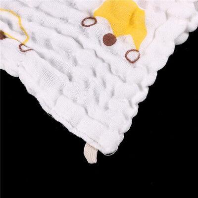 Soft Cotton Baby Infant Newborn Bath Towel Washcloth Feeding Wipe Cloth LZLU 2