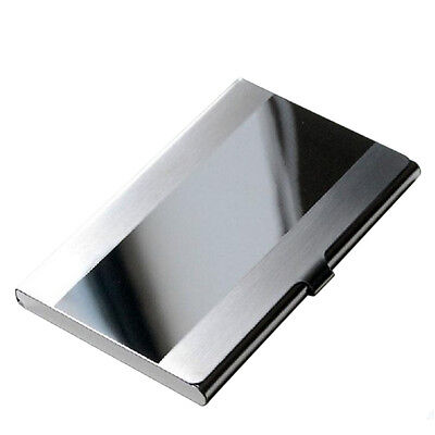 Fine stainless steel pocket name credit id business card holder box 1 of 9free shipping fine stainless steel pocket name credit id business card holder box metalcase reheart Images