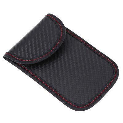 Black Car Key Signal Blocker Case Pouch Bag Faraday Cage Keyless RFID Blocking 5