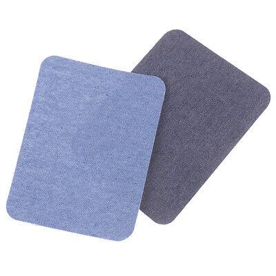 6X Assortiment De Réparation De Jeans En Coton 3Color Fer Sur Denim Patch CBGS 9