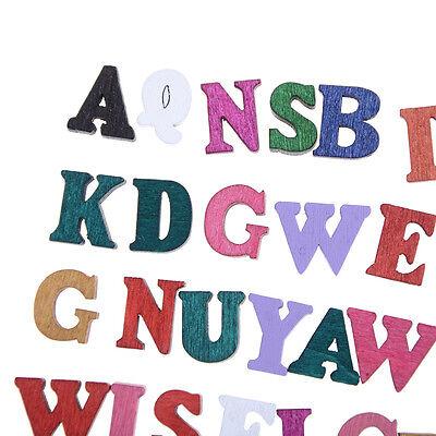 Lettres 100x Lettre En Bois Embellissement Scrapbooking Cardmaking