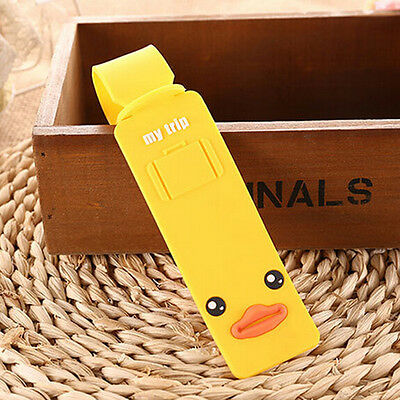 New Korean Silicone Travel Luggage Tags Baggage Suitcase Bag Labels Name Addr Nt 6