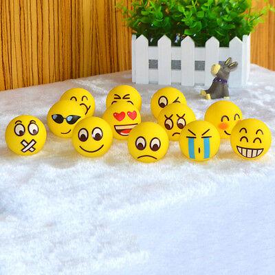 Emoji Gesicht Anti-Stress-Ball ADHS Autismus Stimmung Toy Squeeze Entlasten C-ab