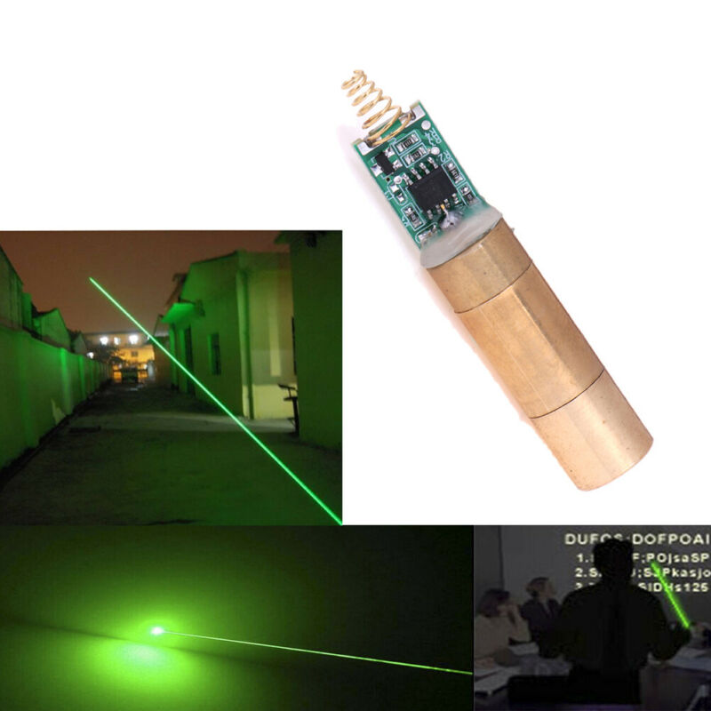 3D SCANNER 532NM 30-50mW Green Laser Module Laser Diode light Free Driver VQ