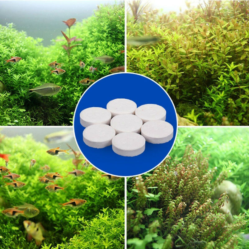 80Pcs Aquarium CO2 Tablet Carbon Dioxide For Plants Fish Tank Aquatic Diffuse gp 2