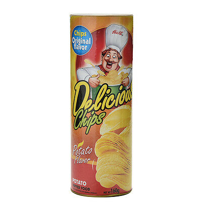 Skillful Trick Potato Chip Can Novelty Joke Prank Jump Snake Funny Tricky Toy HK